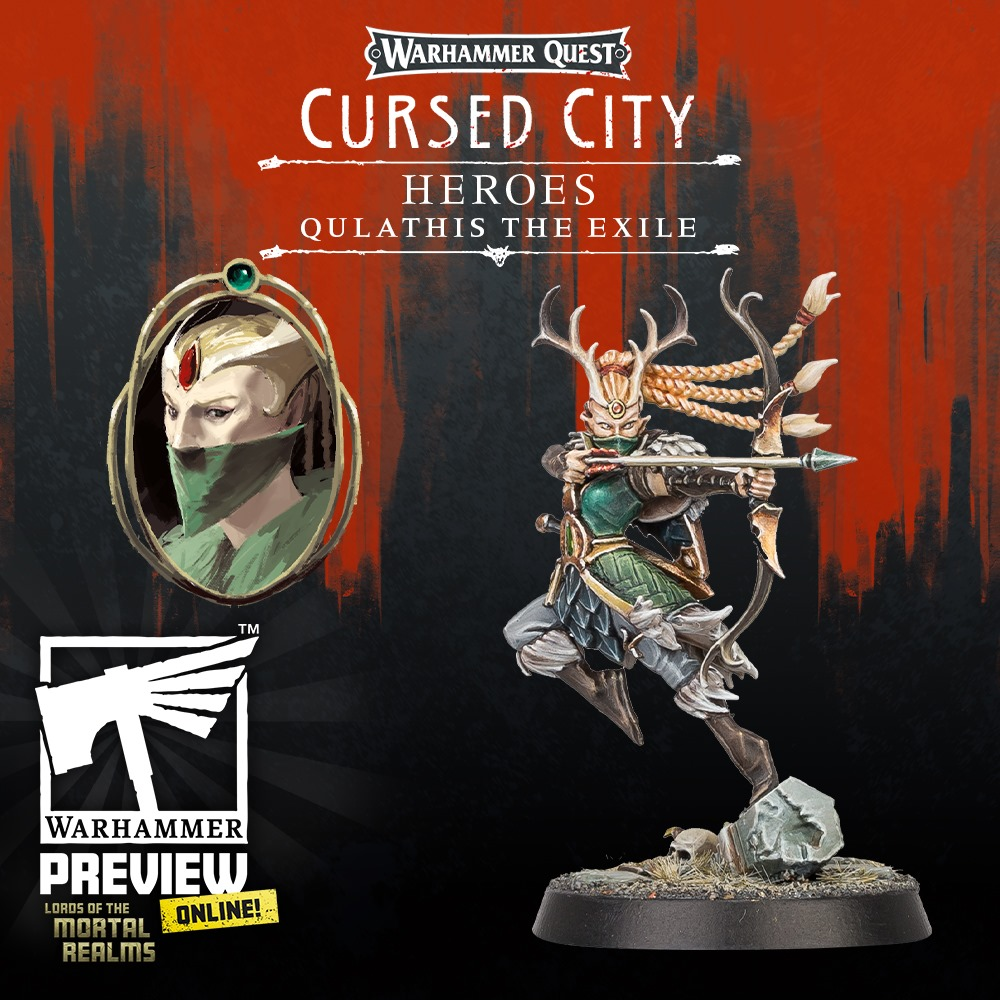 Qulathis The Exile - Warhammer Quest Cursed City