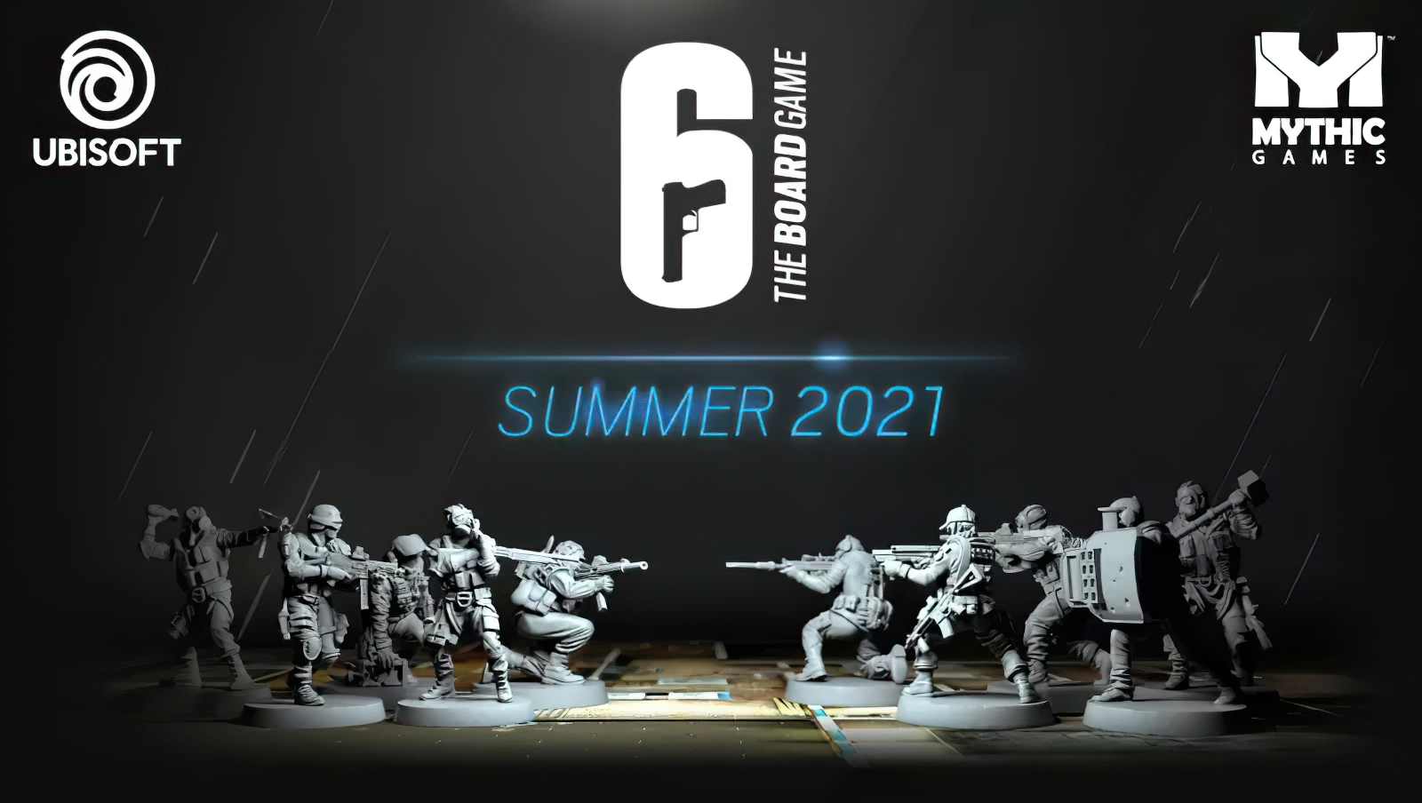 Rainbow 6 The Board Game - Mythic Games