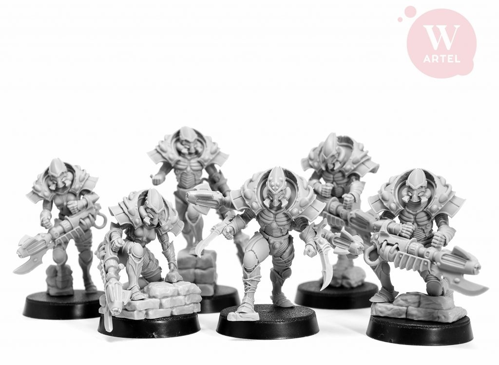 Spectral Spinners Squad 21 - Artel W Miniatures
