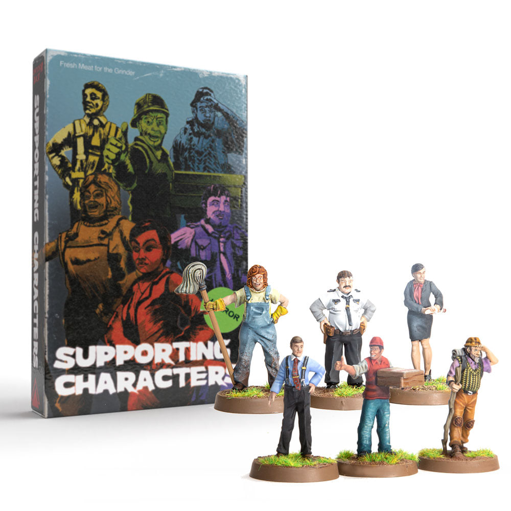 Supporting Characters Box - Dont Look Back
