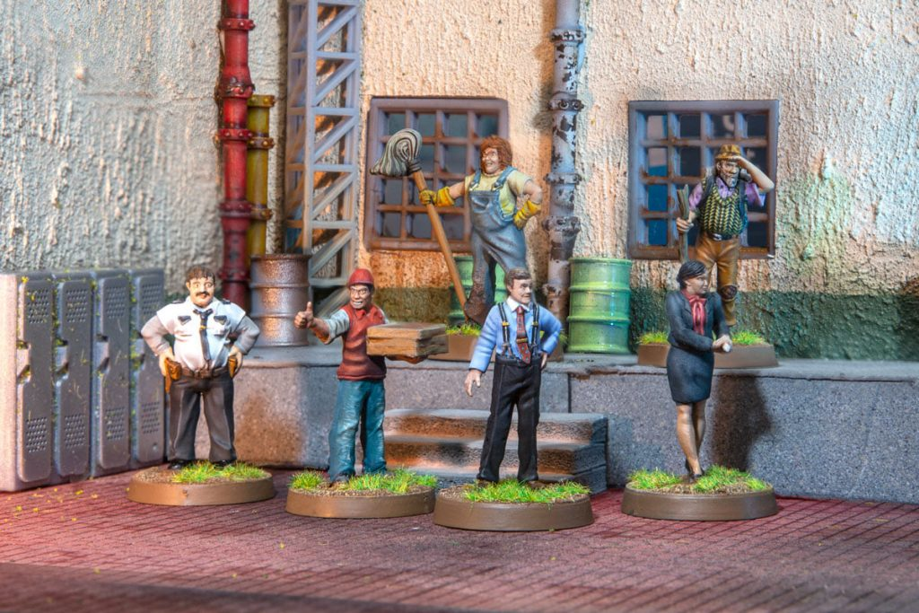 Supporting Characters Miniatures - Dont Look Back