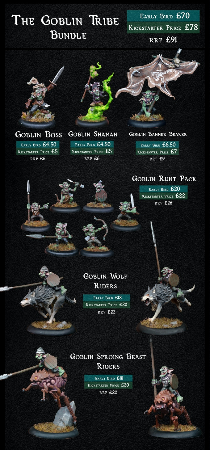 The Goblin Tribe - Warploque Miniatures