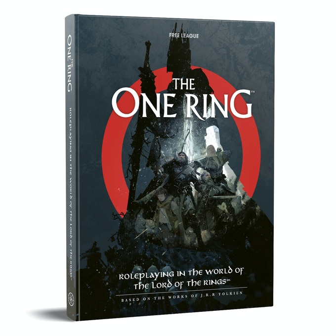 The One Ring Core Rulebook - Free League Publishing