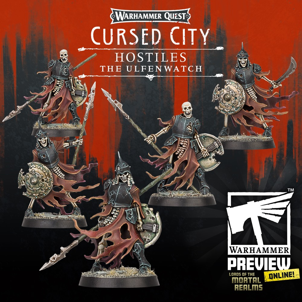 The Ulfenwatch #1 - Warhammer Quest Cursed City