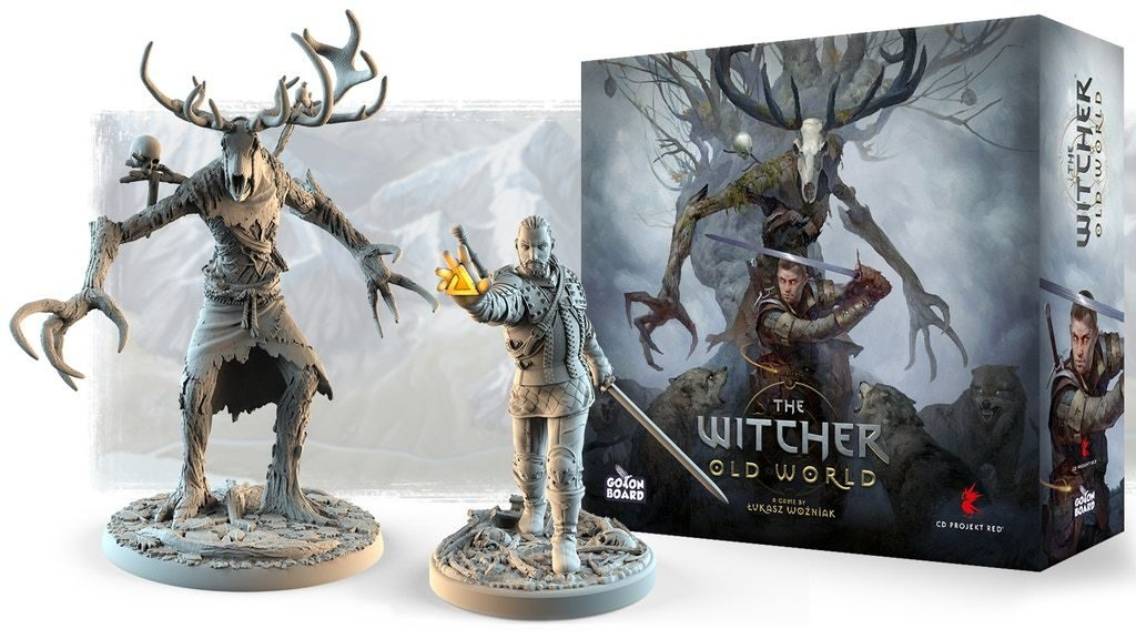 The Witcher Old World Miniatures - Go On Board