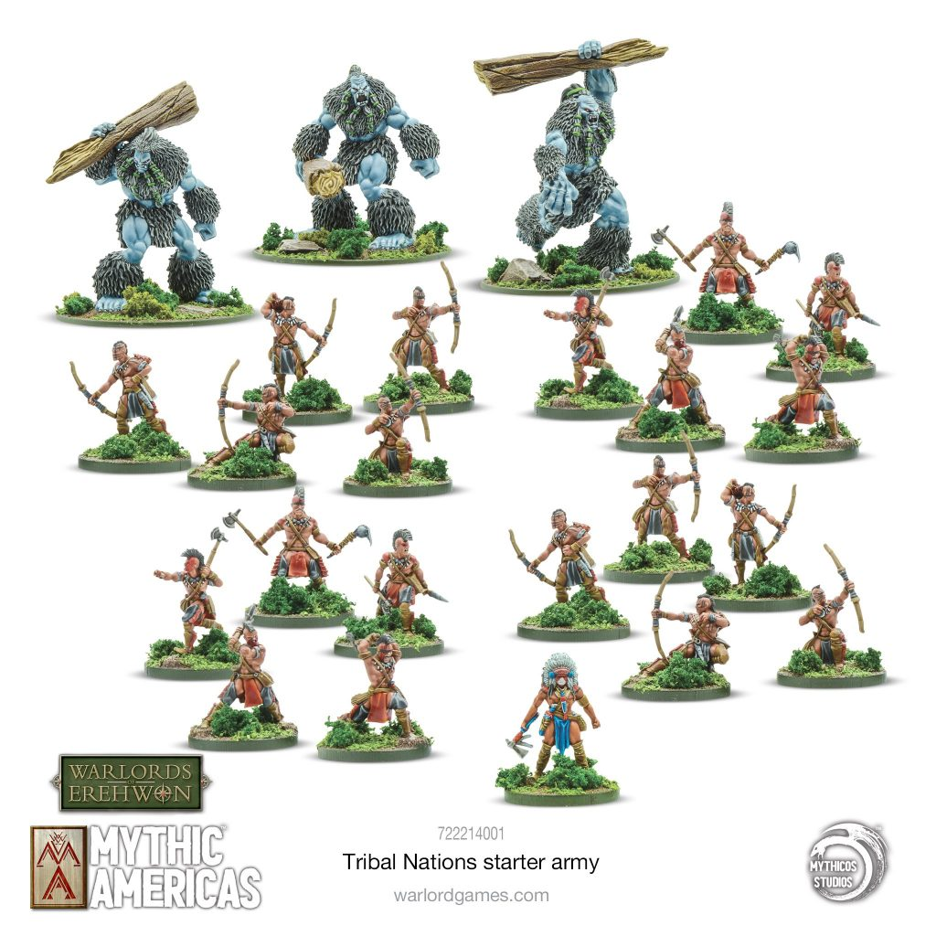 Tribal Nations Starter Set - Warlord Games