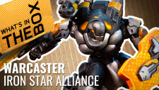 Unboxing – Iron Star Alliance | Warcaster Neo-Mechanika