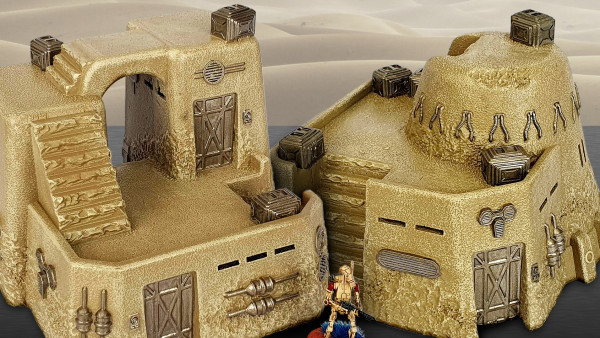 Populate The Desert With New Deep-Cut Studio 28mm Houses