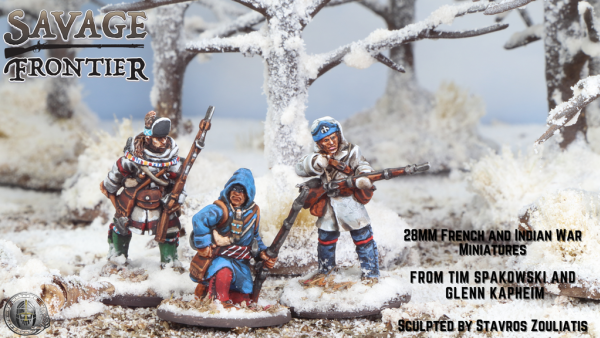 Check Out Footsore Miniatures' Savage Frontier Kickstarter