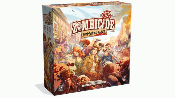Zombicide: Undead Or Alive Now Live On Kickstarter
