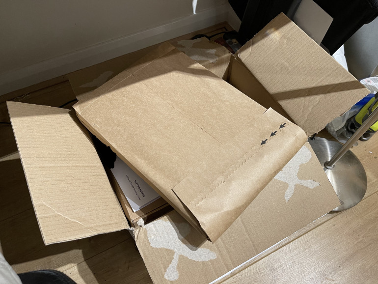 Box of HDF and a few questions from my wife