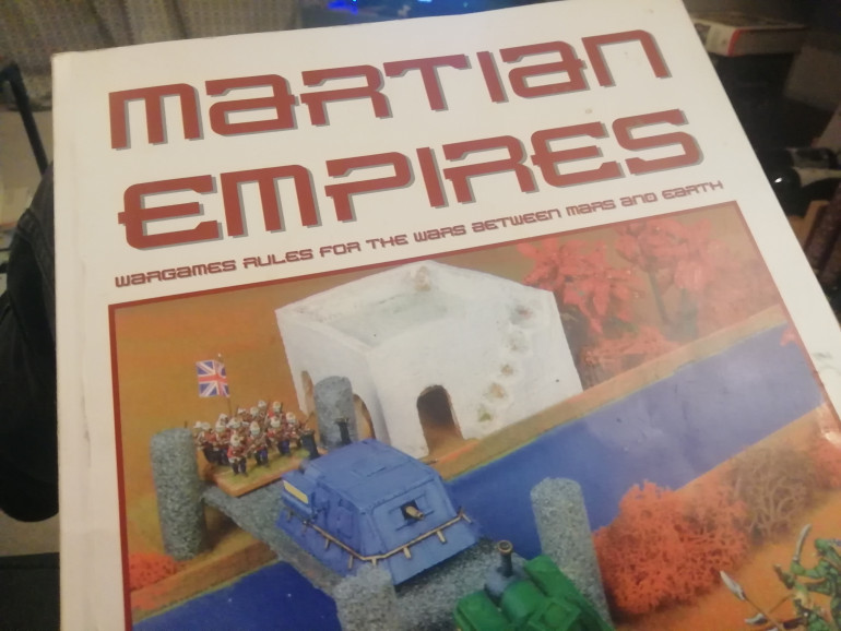 I played Martian Empires a few years back and recreated two scenarios from the book detailing the Martian invasion of Earth. The game runs a little like blackpowder with heatrays. I would like to look at scenarios on Mars