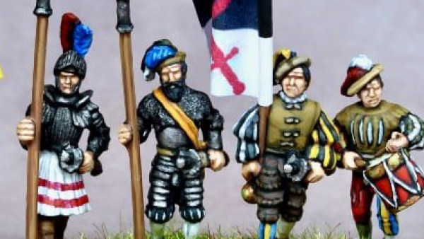 15mm Landsknechts March Forth From Khurasan Miniatures