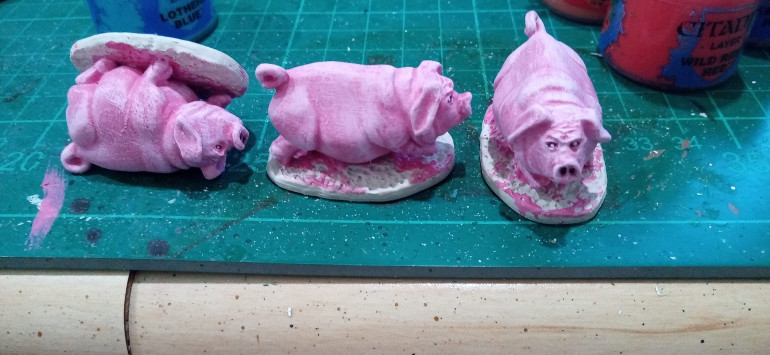 The Finished Pigs