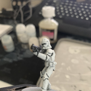 Clone Trooper Phase 2 Test Paint