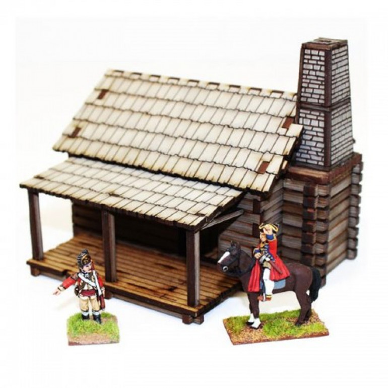 4Ground American legends New England settlers cabin
