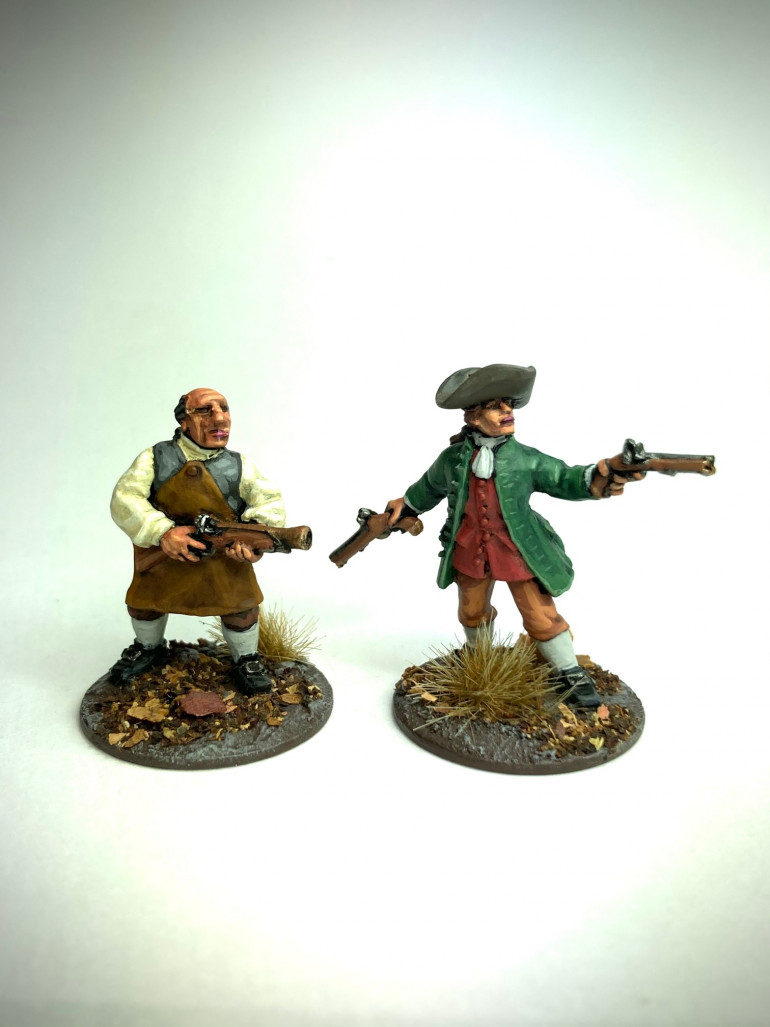 Some more villagers: Blacksmith and Gentleman farmer