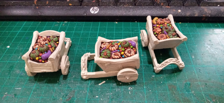 First things first I tidied up all the Contrast Primer