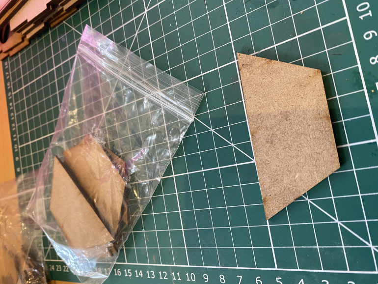 Half-hex, 2mm thick, MDF from Warbases.