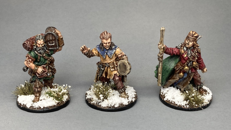 Pack Mule, Bard & Apothecary
