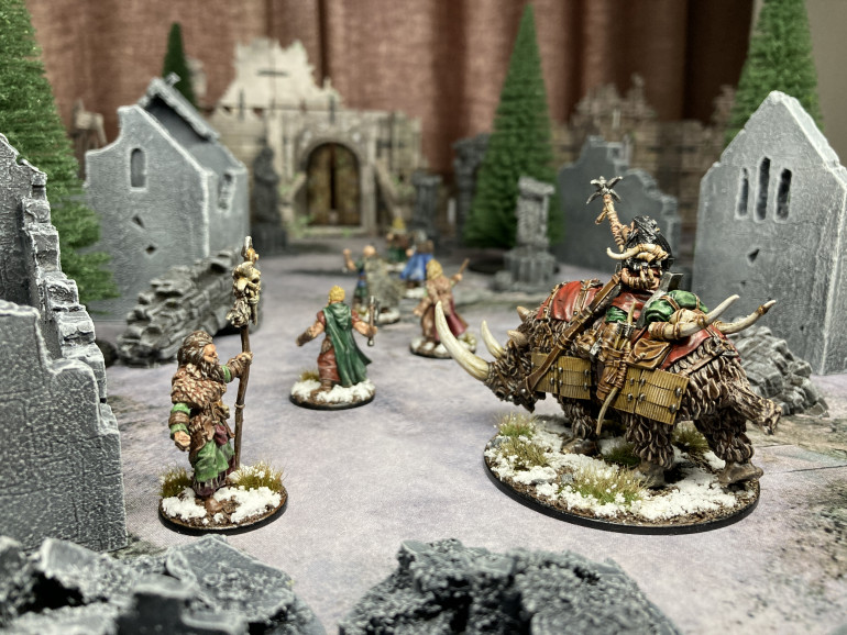 The Barbarians arrive in the outskirts of Frostgrave.