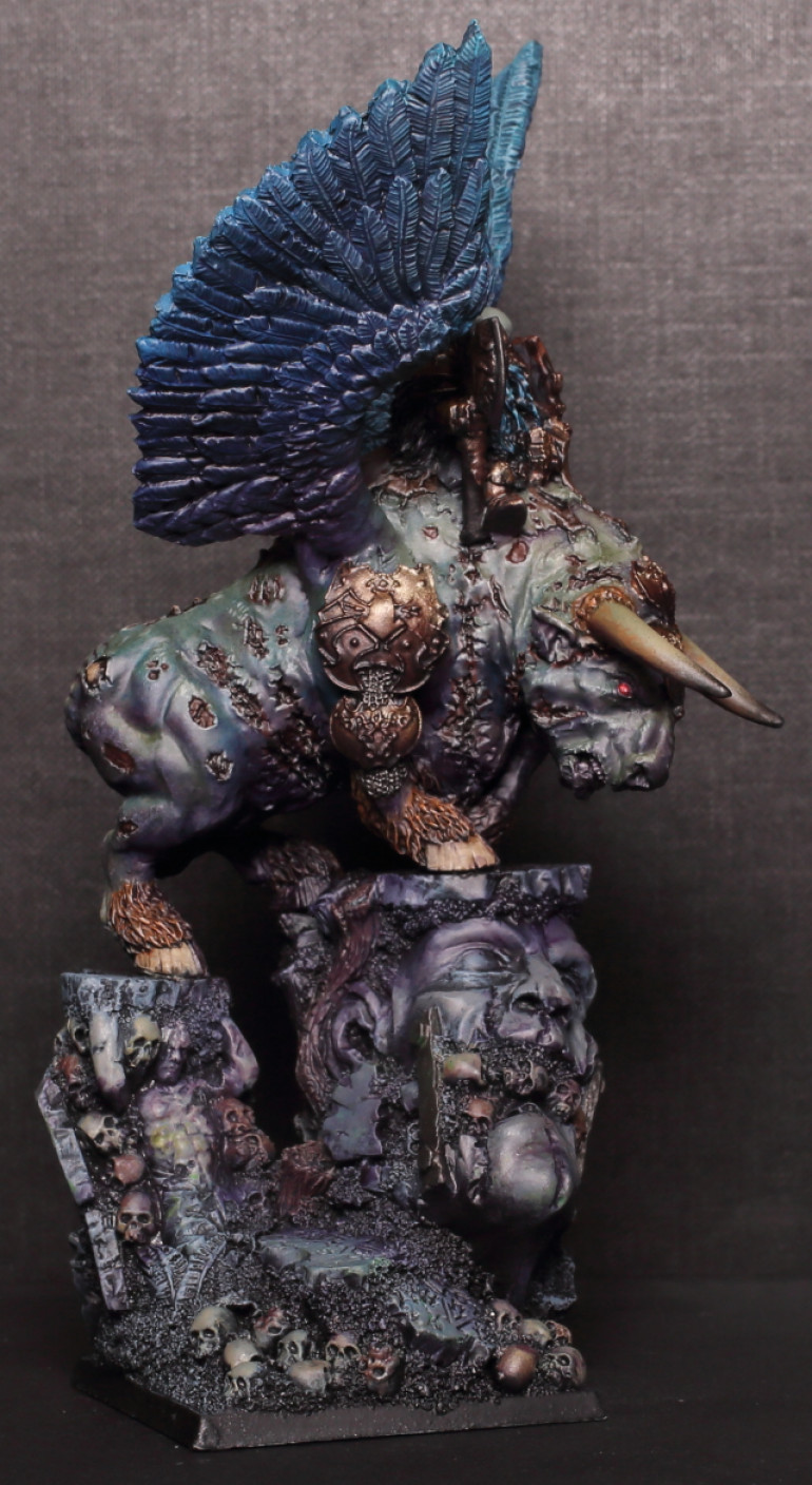 The Warlord on a Winged Bull