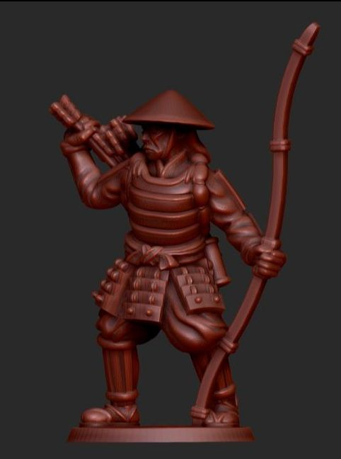 Ashigaru With Bow - Test Of Honour