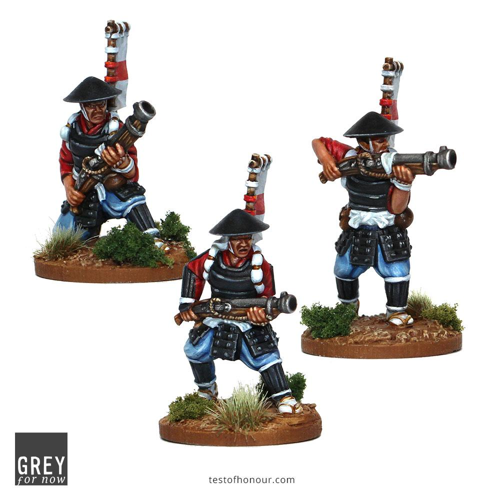 Ashigaru With Ozutsu Front - Test Of Honour
