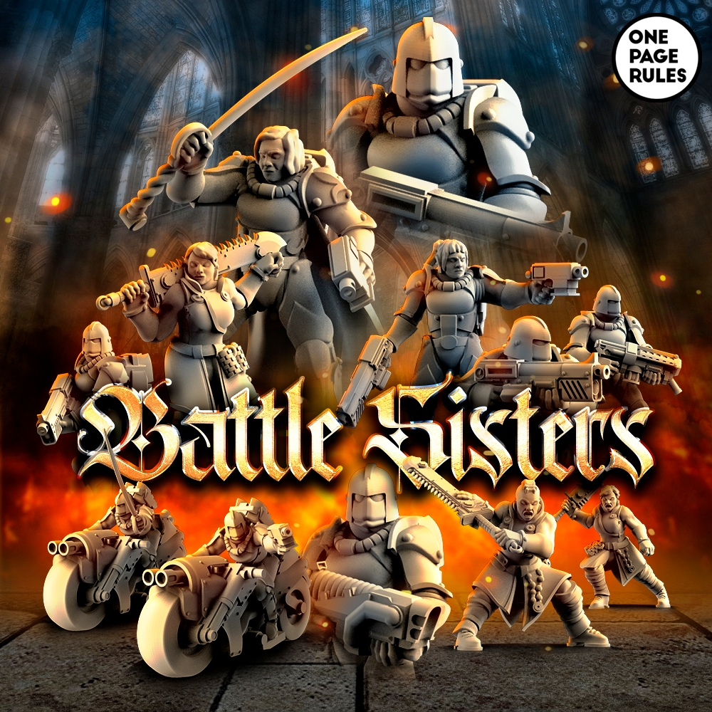 Battle Sisters 2021 - OnePageRules