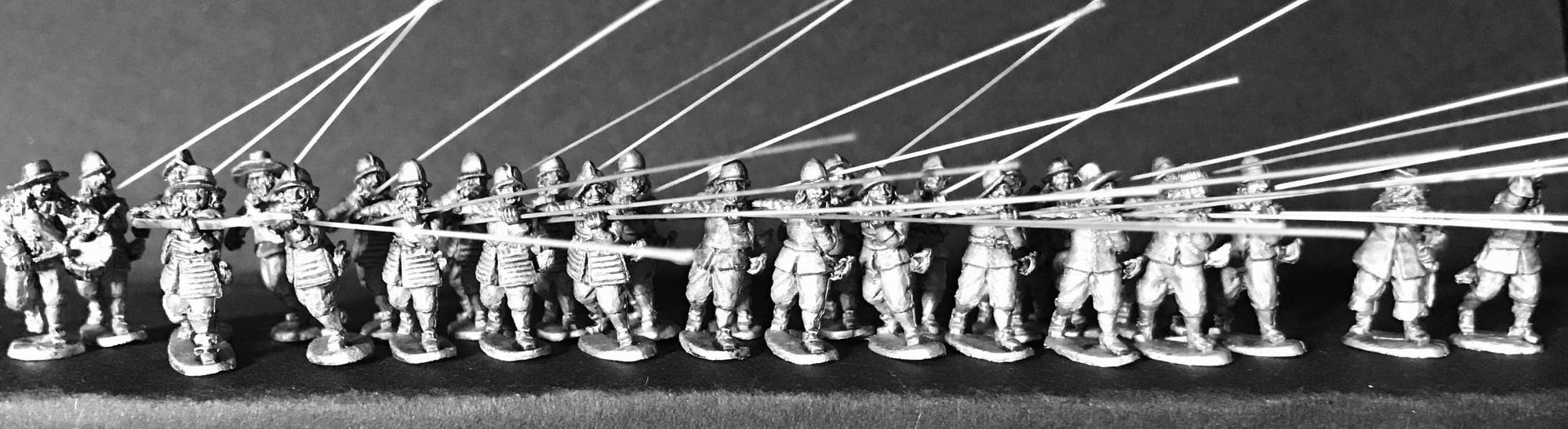 Company Of Pike At Charge - Steel Fist Miniatures