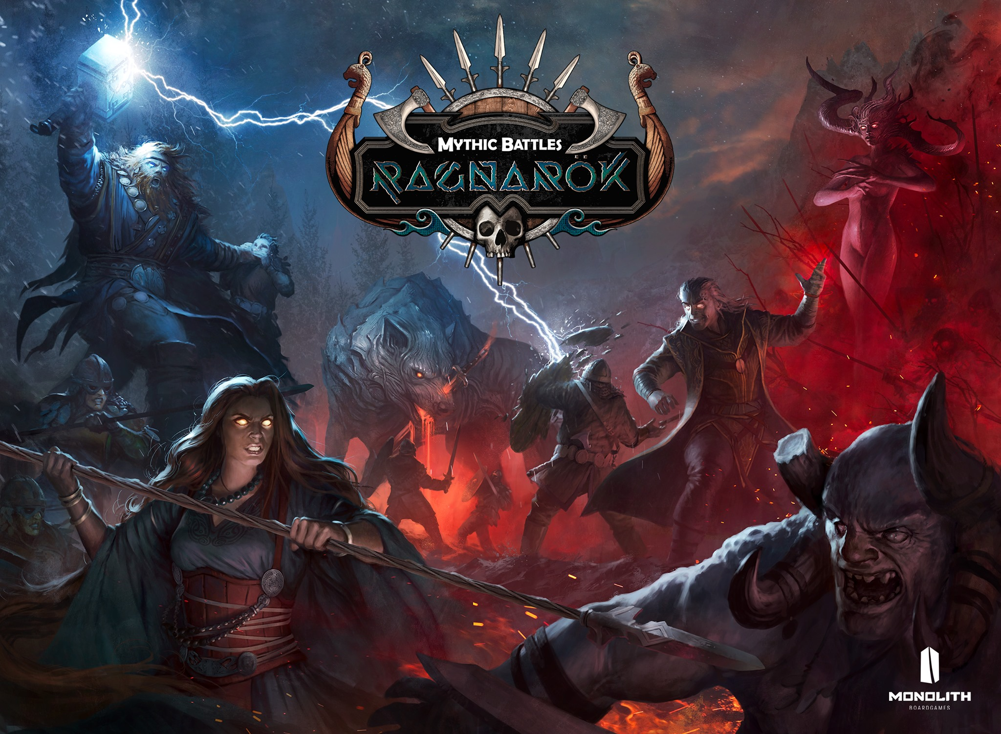 Cover Art - Mythic Battles Ragnarok