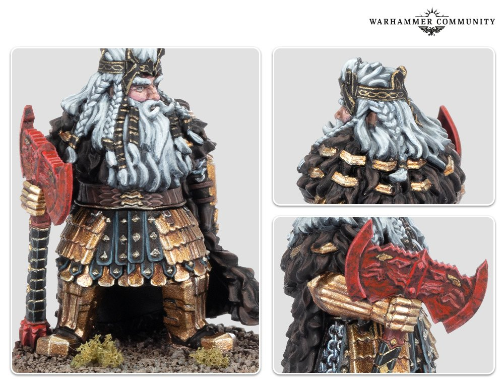 Dain Ironfoot - Middle-earth Strategy Battle Game