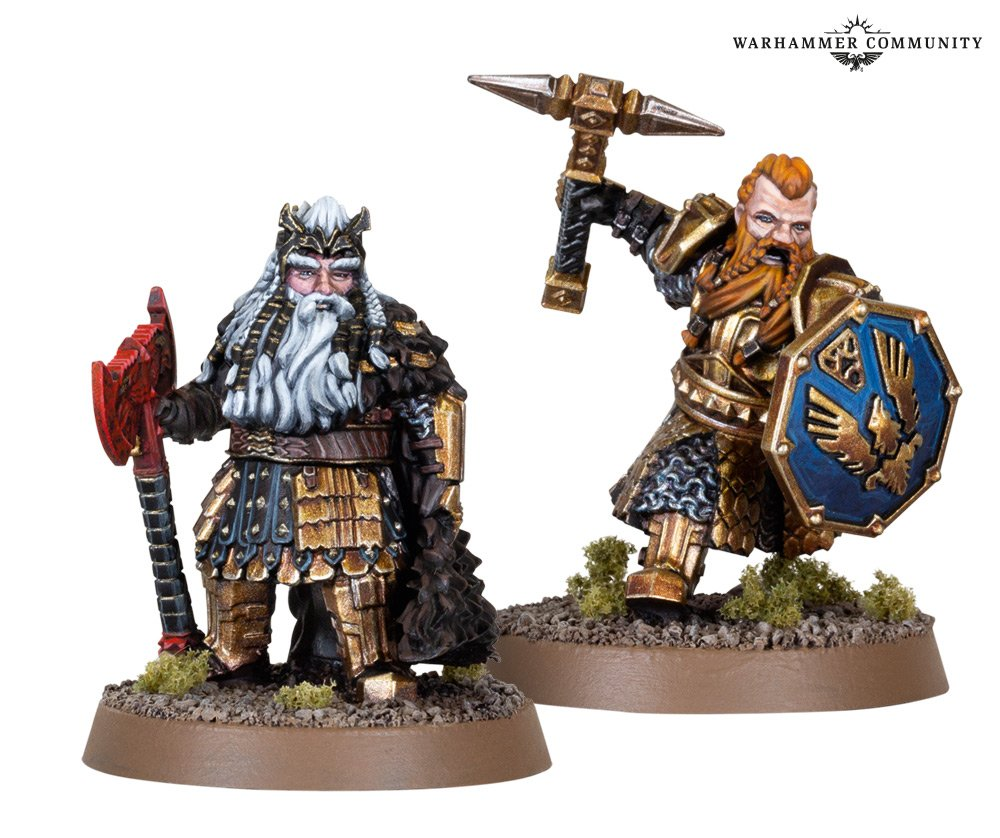 Dain Ironfoot & Thorin III Stonehelm - Middle-earth Strategy Battle Game