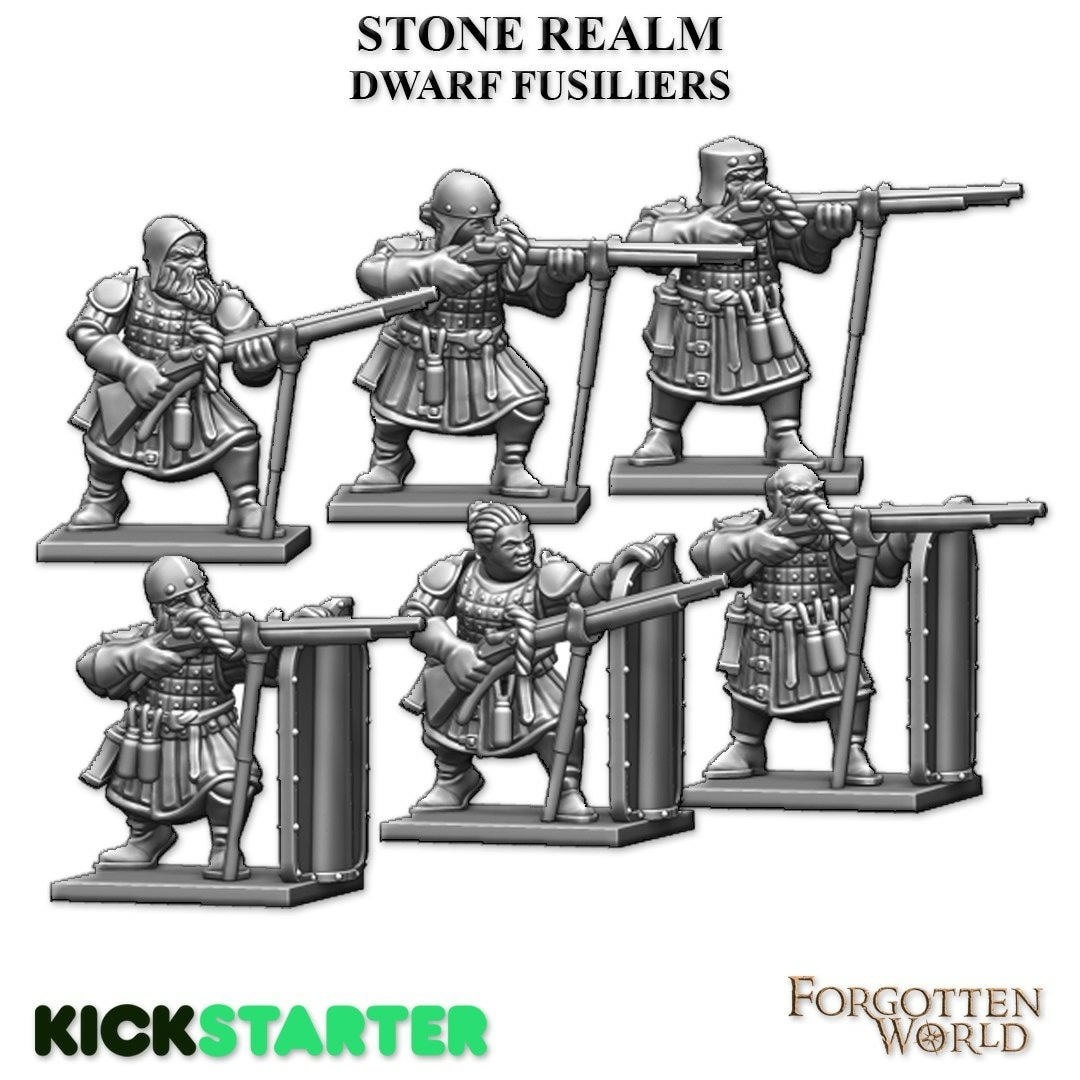 Dwarf Fusiliers - Fireforge Games