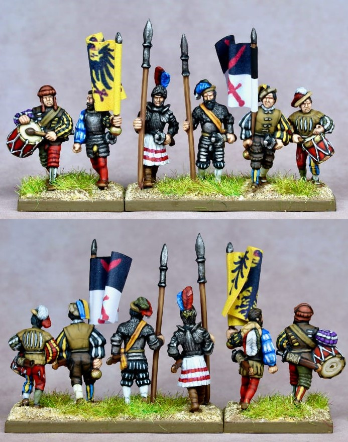 Early 16th Century Landsknecht - Khurasan Miniatures