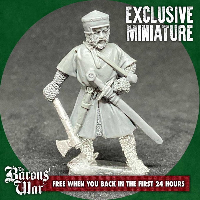 Exclusive Miniature - The Barons War