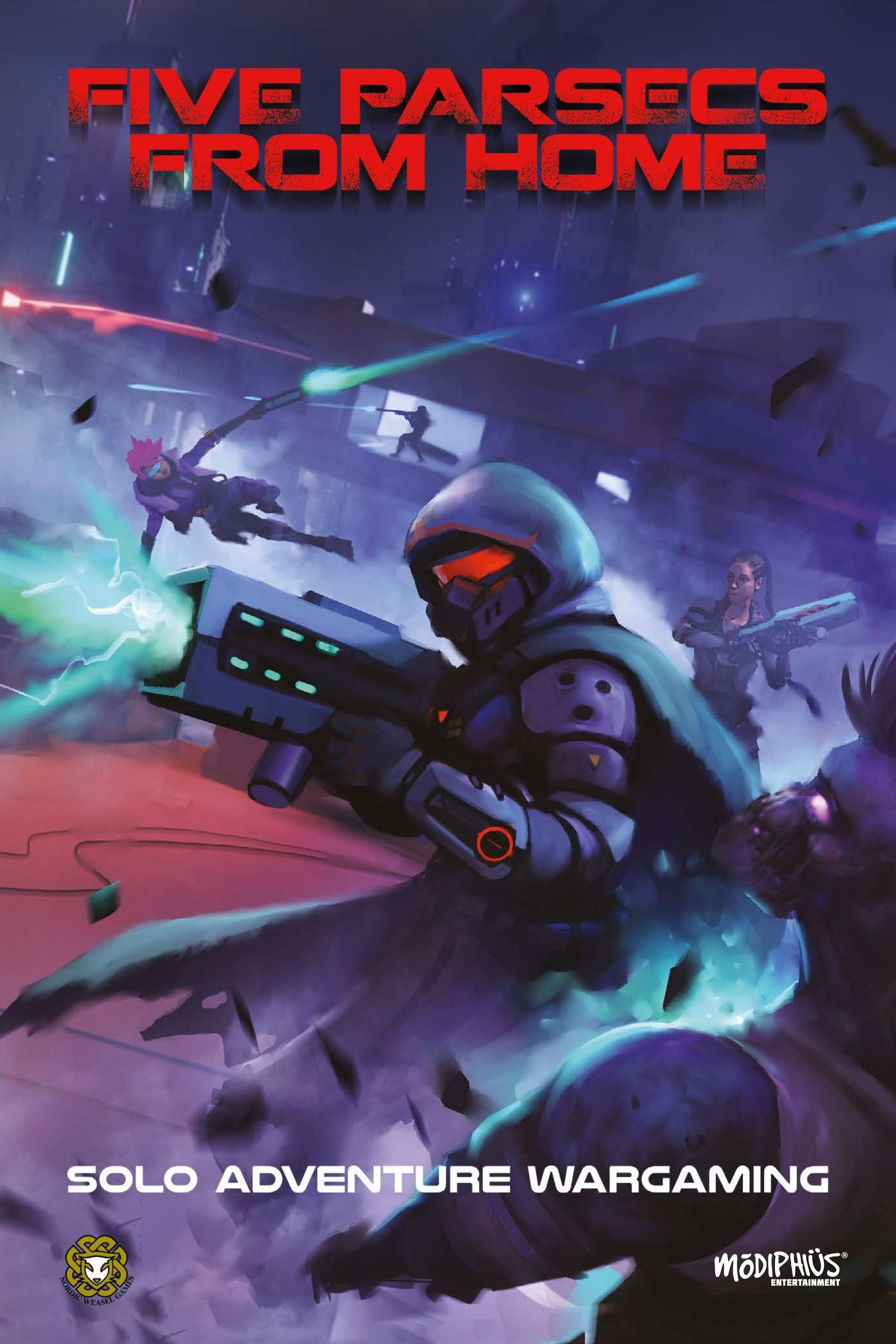 Five Parsecs From Home Cover - Modiphius