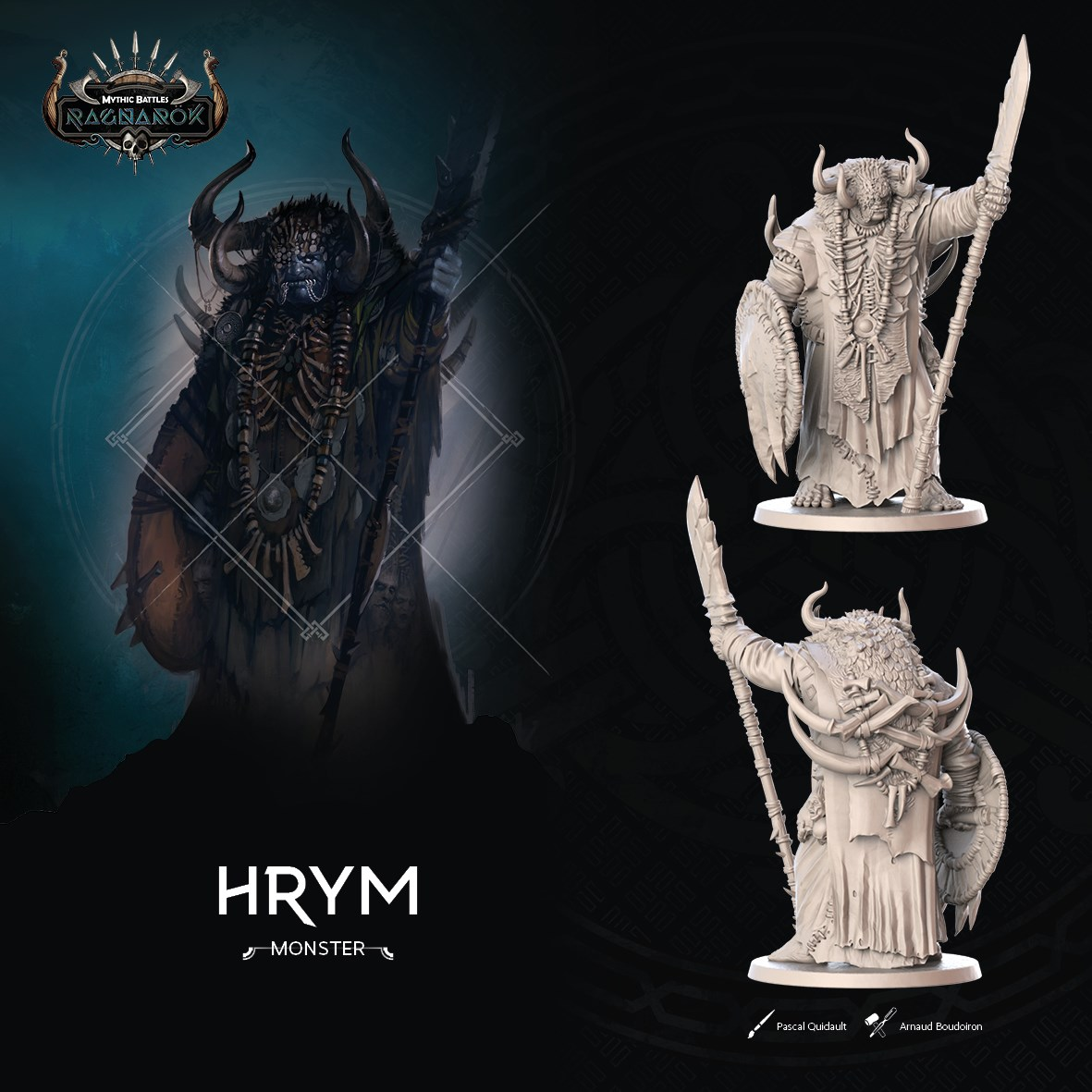 Hrym Artwork - Mythic Battles Ragnarok