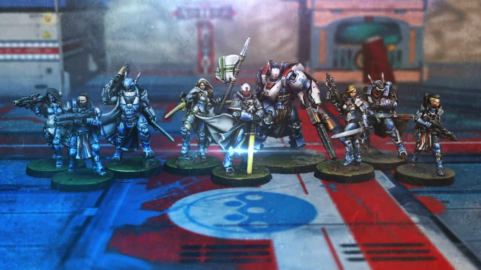 Infinity Military Orders Action Pack Trailer Image - OnTableTop OTT