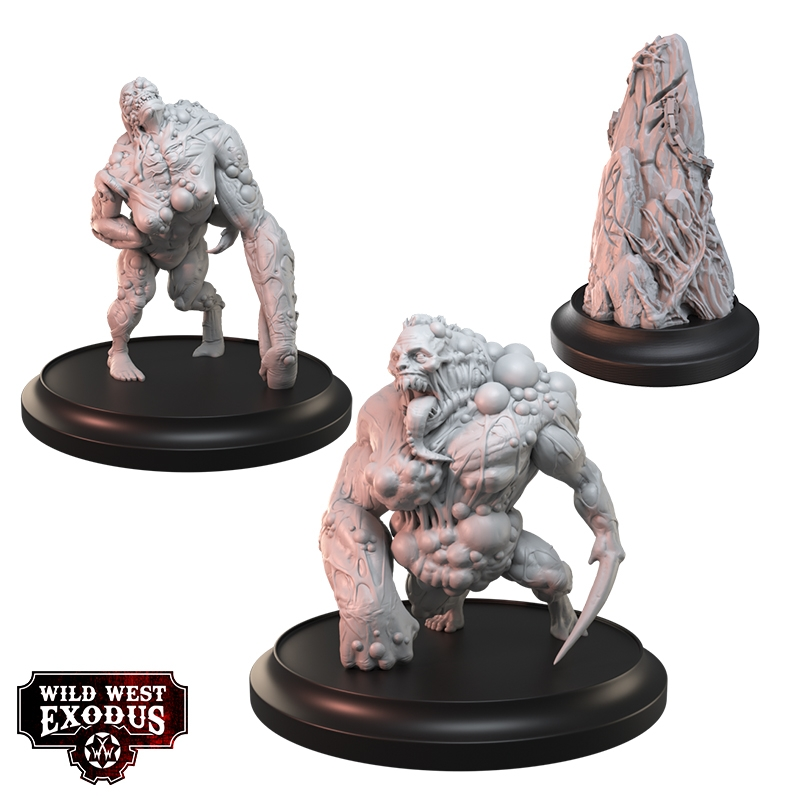 Juiced Hexbeasts Miniatures - Wild West Exodus