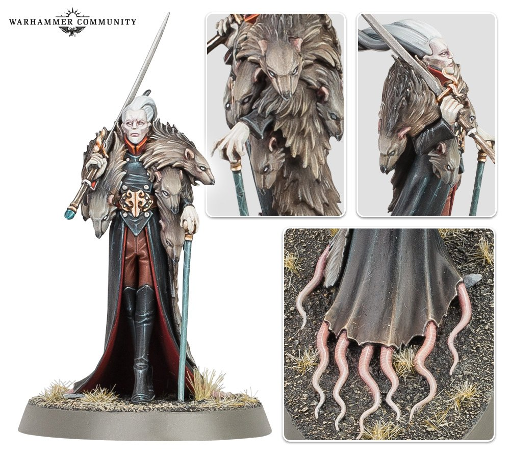Kritza The Rat Prince Details - Age Of Sigmar
