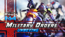 Infinity N4 Military Orders Action Pack Unboxing | Corvus Belli