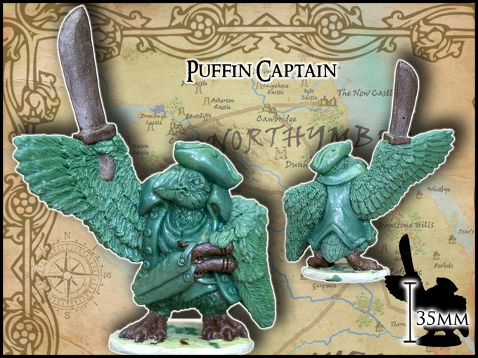 Puffin Captain - Burrows & Badgers