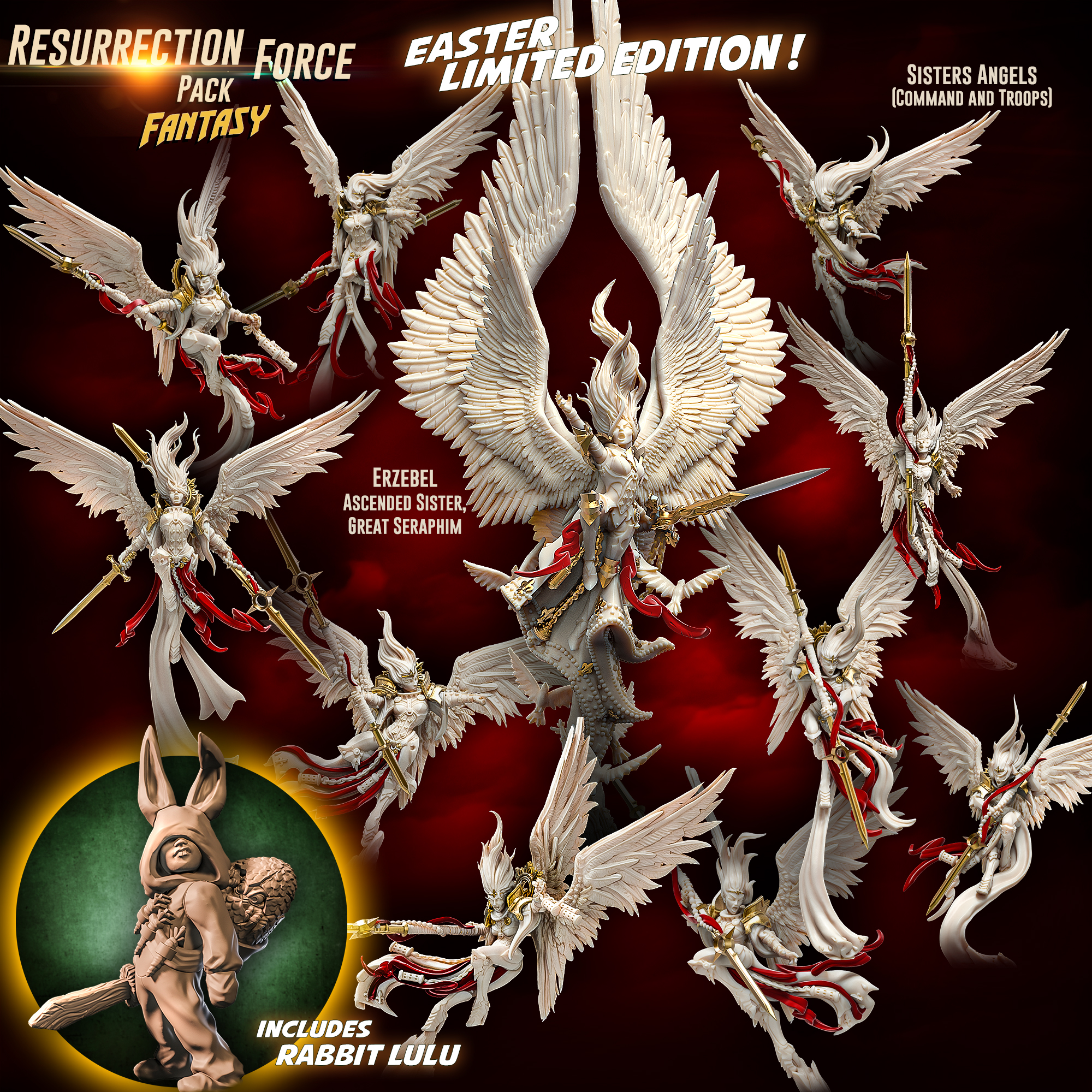 Resurrection Force Pack 2021 - Raging Heroes