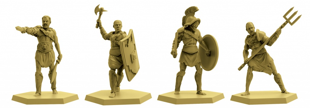Spartacus A Game Of Blood & Trechery Miniatures - Gale Force Nine