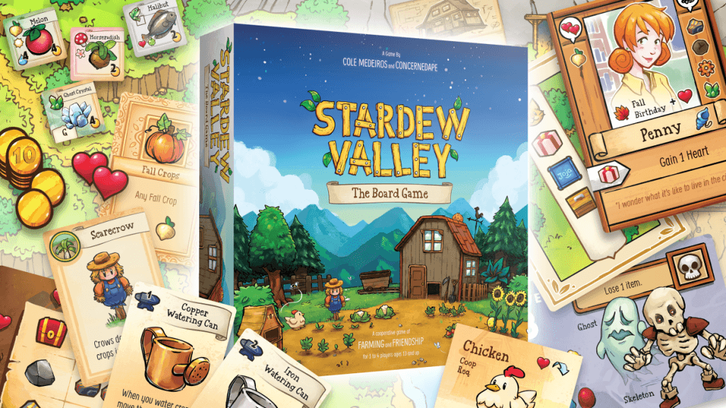 Stardew Valley The Board Game - ConcernedApe