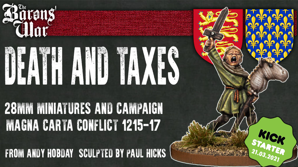 The Barons War Death And Taxes - Footsore Miniatures & Games