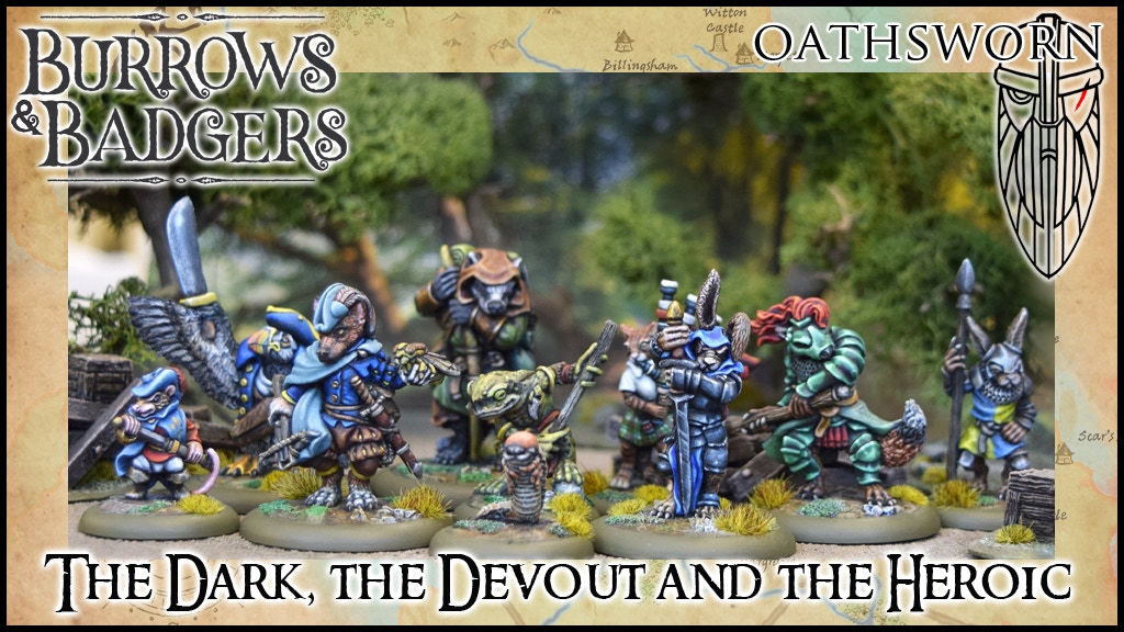 The Dark The Devout & The Heroic Main - Burrows & Badgers