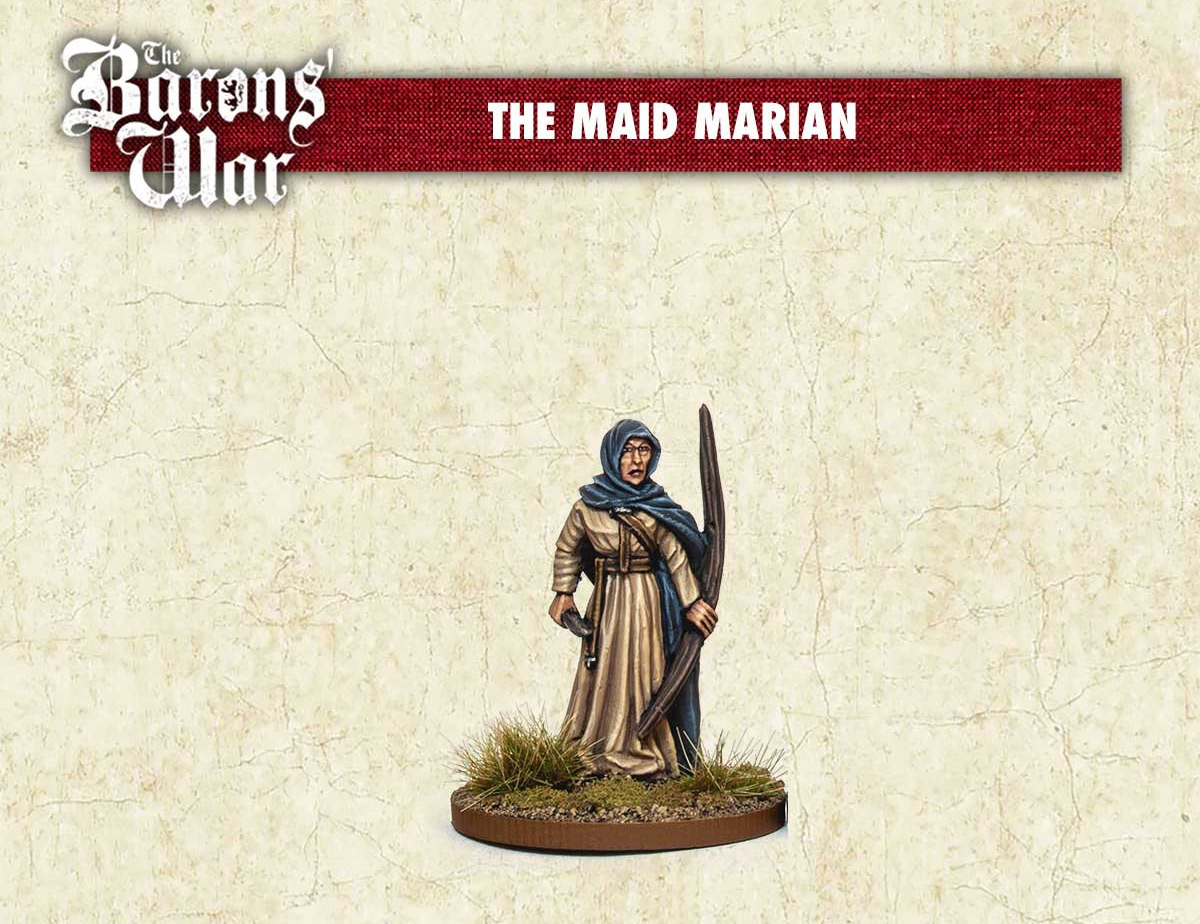 The Maid Marian - Footsore Miniatures & Games