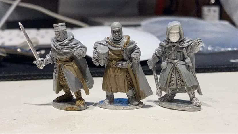 The Priest Of St Oswald Church - Footsore Miniatures & Games